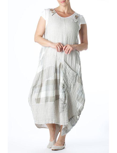Zedd Plus | Женское Бежевое Платье