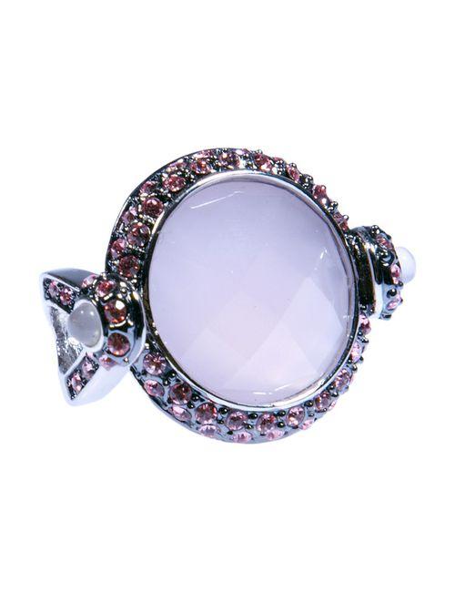 Silkway | Женское Кольцо Розовый Опал