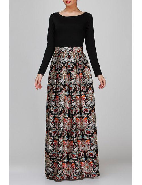 FIFI LAKRES | Женское Чёрное Платье