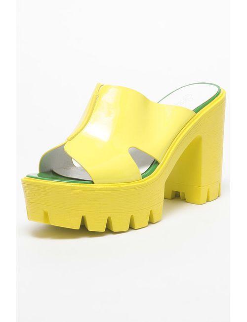 SprinkSolo | Женское Жёлтое Сабо