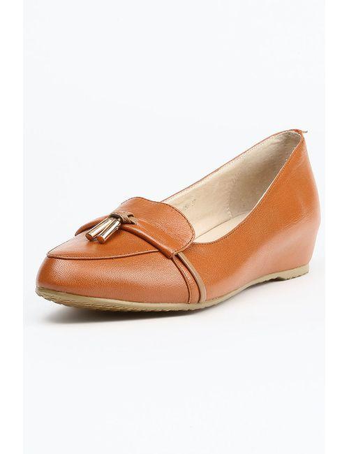 Makfine | Женские Оранжевые Туфли