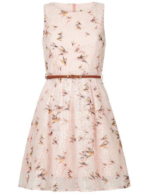 Yumi | Женское Розовое Платье