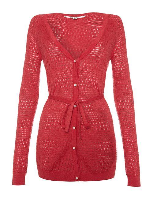 Uttam Boutique | Женский Красный Кардиган
