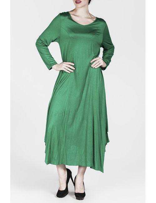 Moda di Lorenza | Женское Зелёное Платье