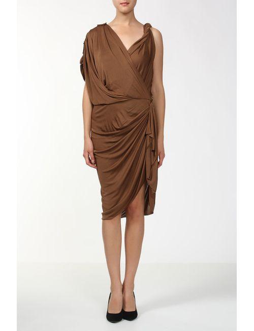 Lanvin | Женское Коричневое Платье