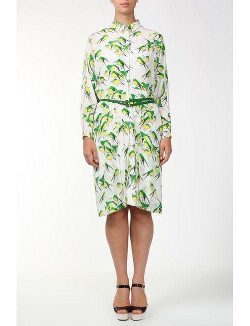 Carolina Herrera | Женское Белое Платье Пояс