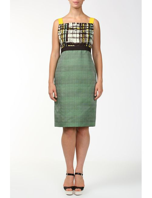 Carolina Herrera | Женское Зелёное Платье