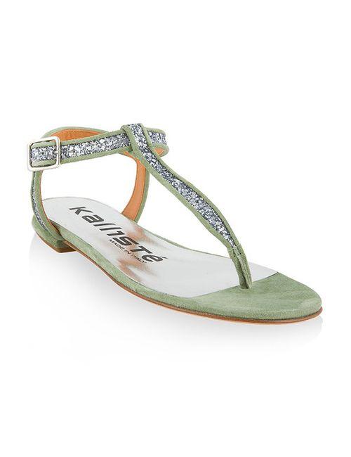 Kallistè | Женские Зелёные Сандалии
