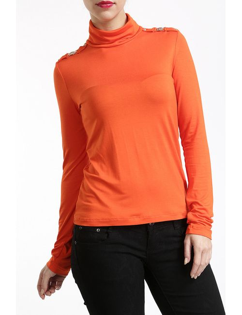 Versace Jeans Couture | Женская Оранжевая Футболка