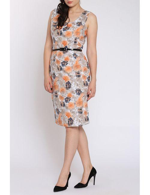 Moda Di Chiara   Женское Бежевое Платье