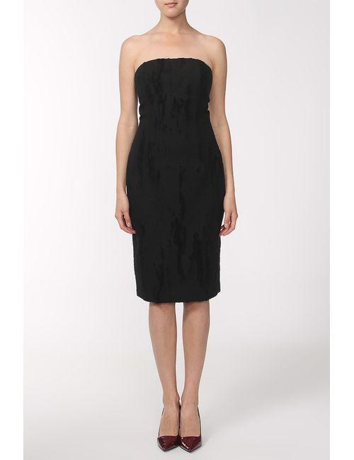 Cushnie Et Ochs   Женское Чёрное Платье