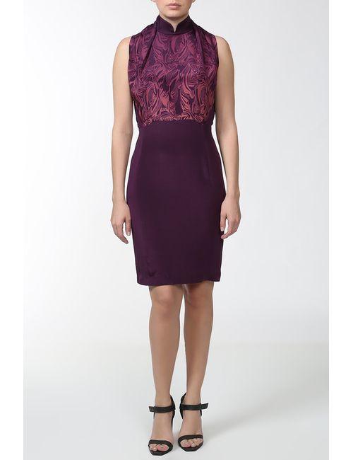 Shanghai Tang | Женское Фиолетовое Платье