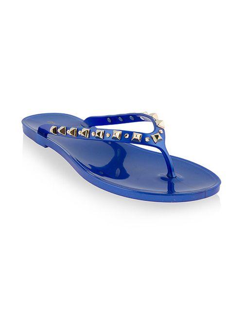 Menghi | Женские Синие Пляжные Сланцы