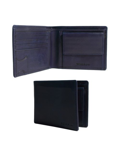 Zoppini | Мужской Синий Бумажник