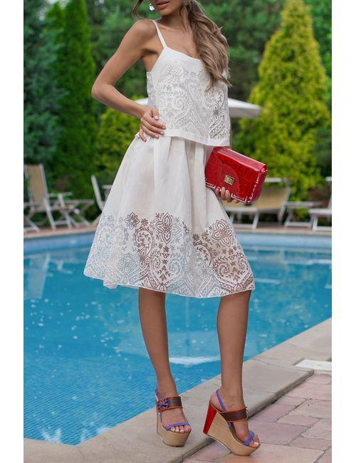 Bezko | Женское Белое Платье