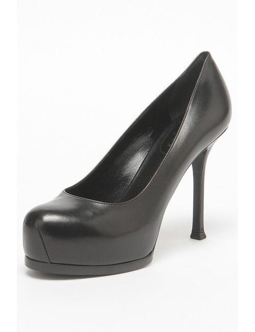 Saint Laurent   Женские Чёрные Туфли