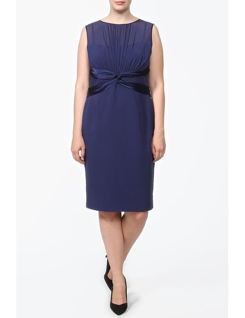 Luisa Spagnoli | Женское Синее Платье