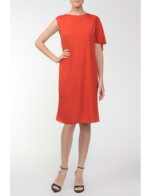 Bottega Veneta | Женское Оранжевое Платье