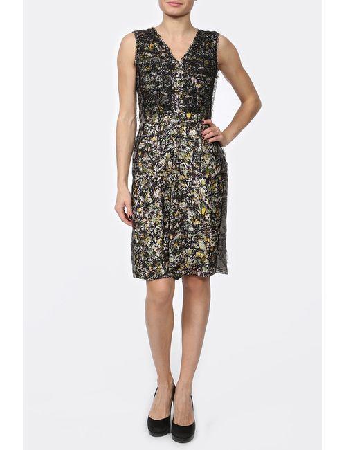 Bottega Veneta | Женское Зелёное Платье