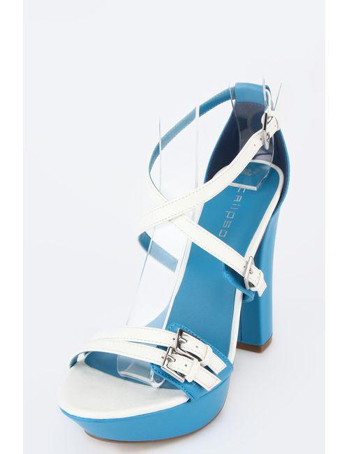 Calipso | Женские Синие Босоножки
