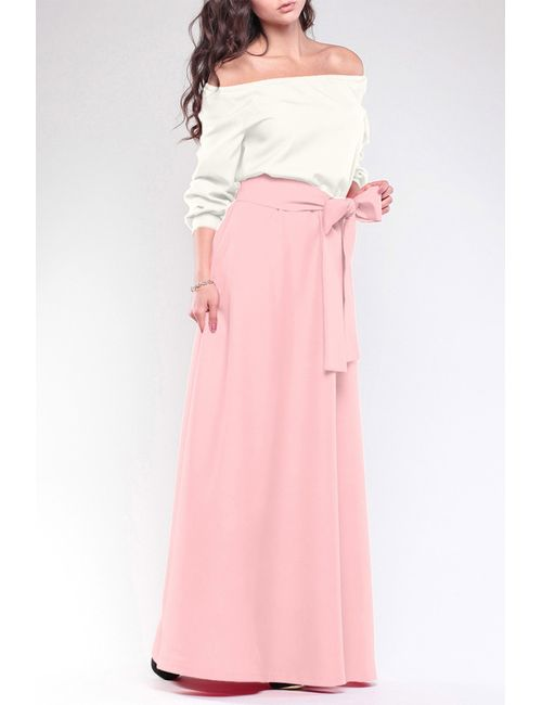 REBECCA TATTI | Женское Розовое Платье