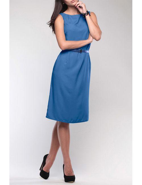 REBECCA TATTI | Женское Синее Платье