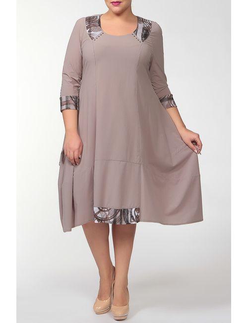 Terra | Женское Коричневое Платье