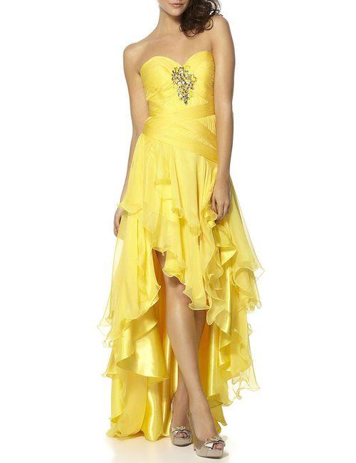YASMIN | Женское Жёлтое Платье