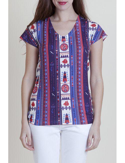 Rosalita Mc Gee | Женская Многоцветная Блуза