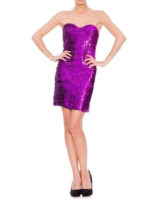 Rare London | Женское Фиолетовое Платье