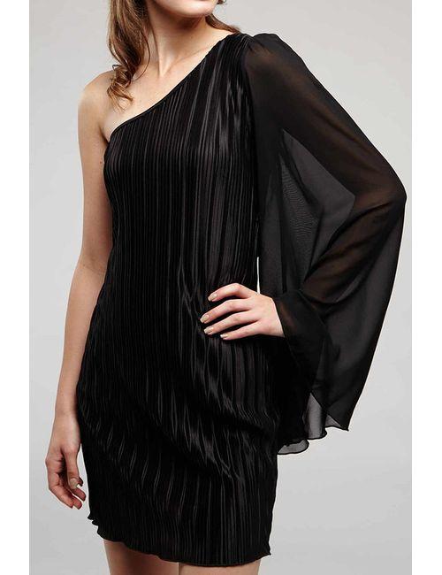 Rare London | Женское Чёрное Платье