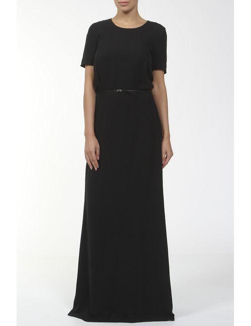 Maison Margiela   Женское Черный Платье С Поясом