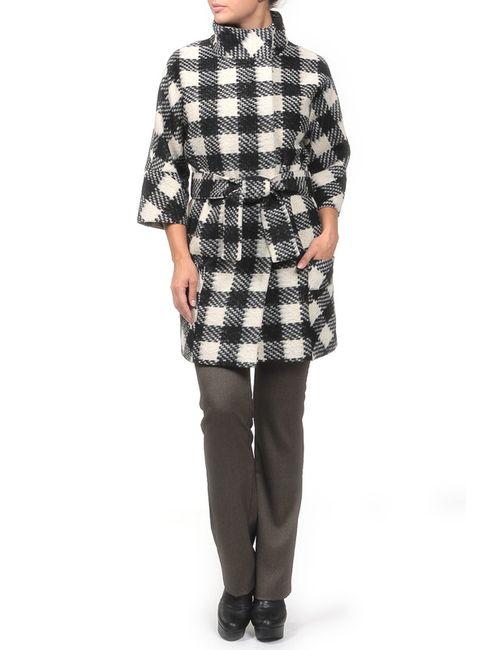 Амулет | Женское Чёрное Пальто