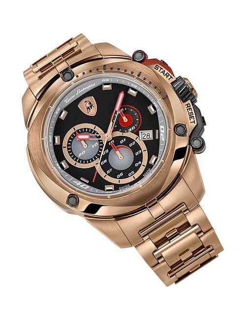 Tonino Lamborghini | Мужские Золотые Часы Наручные
