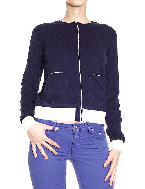 ARMANI JEANS | Женская Синяя Спортивная Куртка