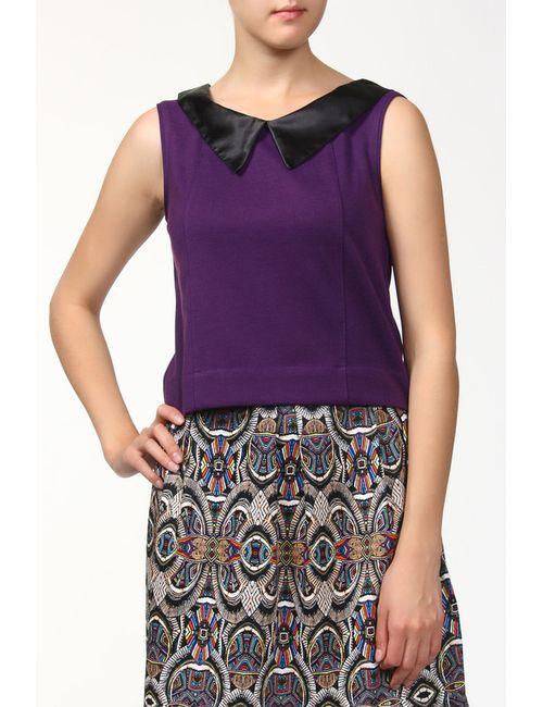 BERTEN | Женская Фиолетовая Блуза