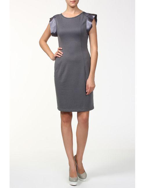 BERTEN | Женское Серое Платье