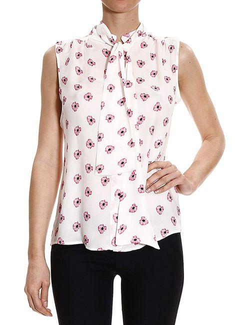 Frankie Morello   Женская Белая Рубашка