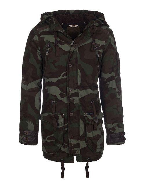 DREIMASTER | Мужская Зелёная Куртка