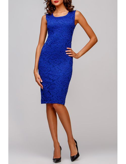Adelin Fostayn | Женское Синее Платье