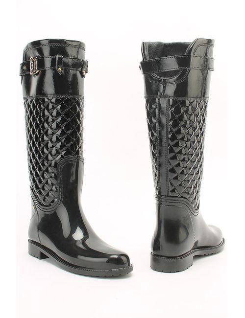 LADYLITA.RU | Женская Чёрная Резиновая Обувь