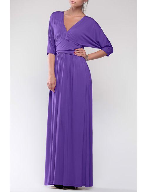 Dioni | Женское Фиолетовое Платье