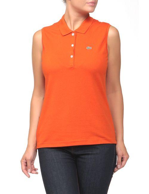 Lacoste | Женское Оранжевое Поло