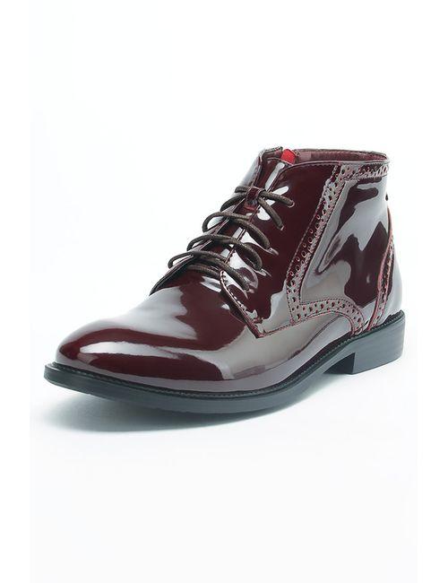 Makfly | Женские Красные Ботинки