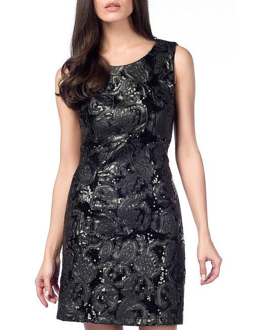 Dilvin | Женское Чёрное Платье
