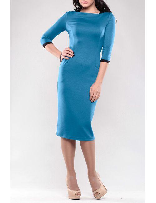 Maurini | Женское Голубое Платье