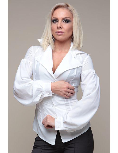Gloss | Женская Белая Рубашка