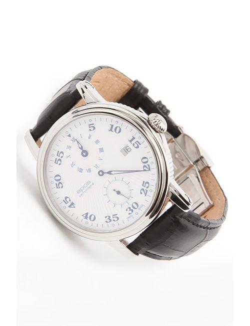 Epos | Мужские Серебряные Часы Наручные