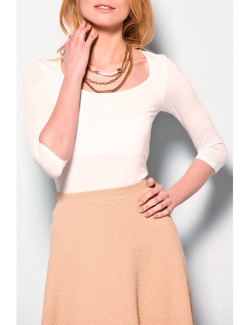 Dilvin | Женская Белая Блузка
