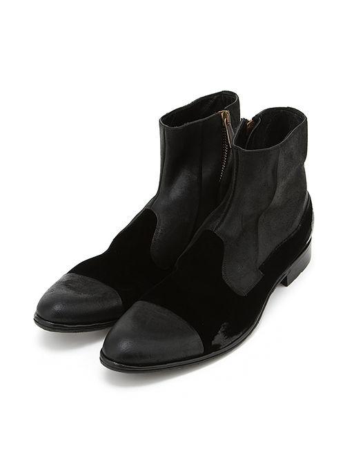 Dolce & Gabbana | Мужские Чёрные Полусапоги